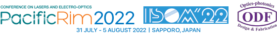 Joint Conference : CLEO-PR 2022 / ISOM'22 / ODF'22 | 31 July - 5 August 2022 / Sapporo, Japan